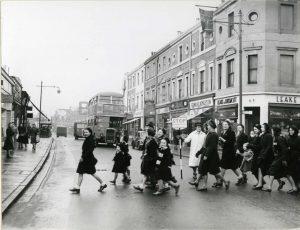 Sidcup High Street 1950